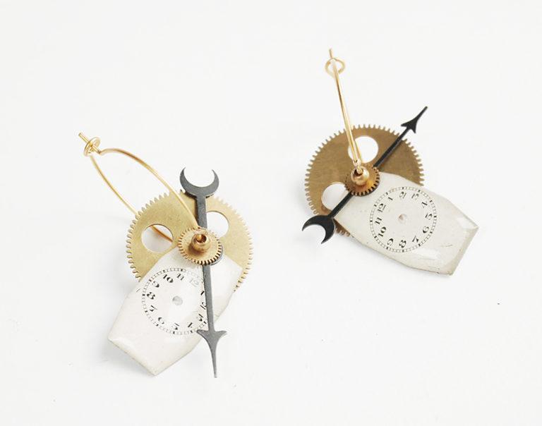 boucles d'oreilles grigri création mkabricks bijoux